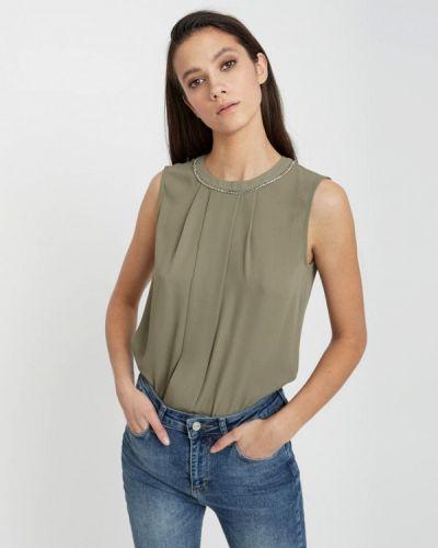 403374724bb Блузки без рукавов цвета хаки - купить в интернет-магазине - Shopsy