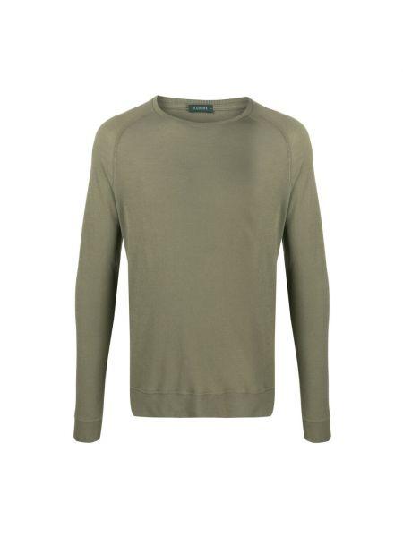 Zielony sweter Zanone