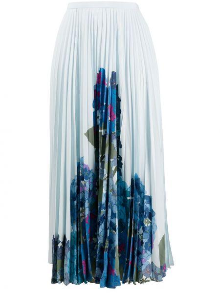 Плиссированная юбка миди с завышенной талией Valentino