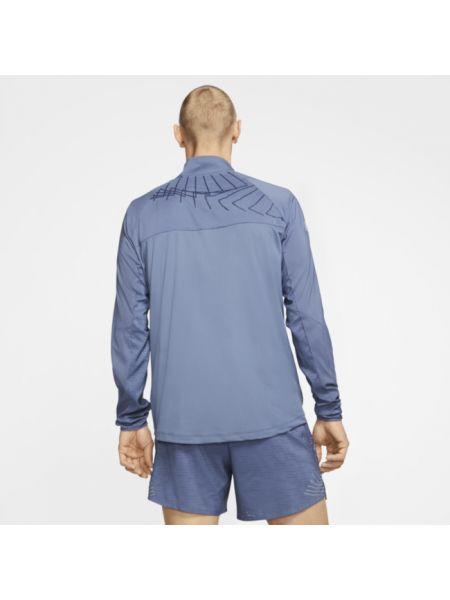 Koszula żakard niebieski Nike