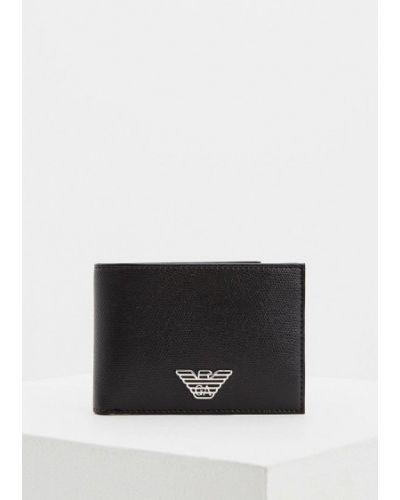 Черный кошелек Emporio Armani