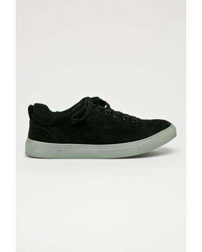 Buty ażurowy czarne Corina
