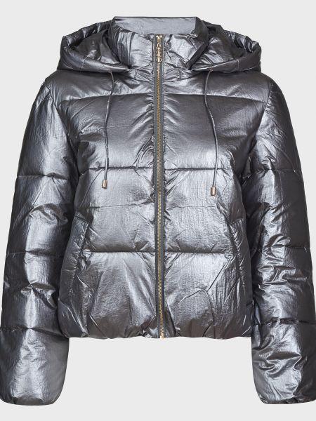 Серая куртка на молнии с подкладкой Liu Jo