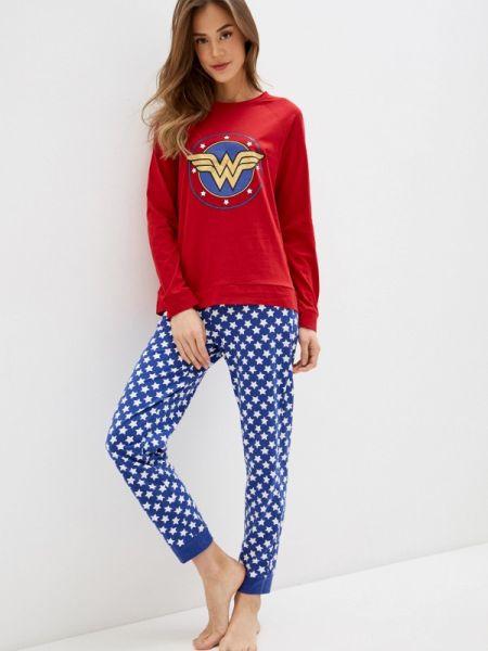 Пижама пижамный красная Tezenis