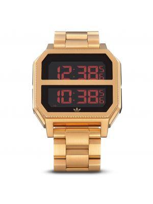 Złoty sport zegarek Adidas