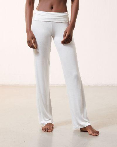 Spodnie z wiskozy Etam