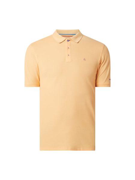 Pomarańczowy t-shirt bawełniany Colours & Sons