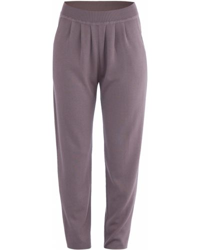 Шелковые брюки Maison Ullens