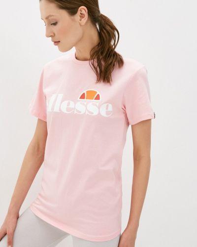 Розовая футболка Ellesse