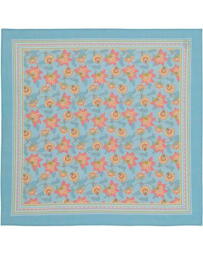 Niebieski szalik bawełniany Louise Misha