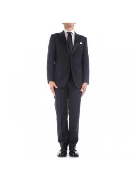 Garnitur kostium niebieski Kiton