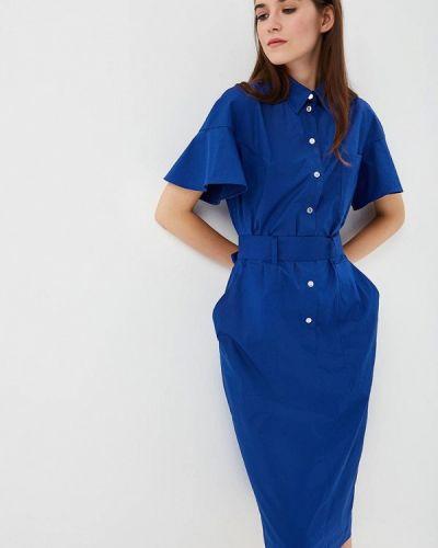 Платье синее Chapurin