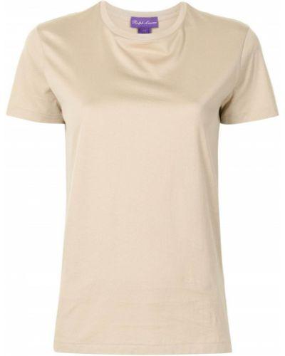 Brązowa t-shirt krótki rękaw Ralph Lauren Collection