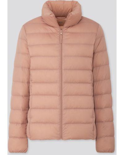 Куртка на молнии - розовая Uniqlo