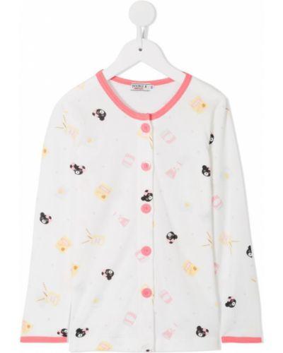 Пижама белая Miki House