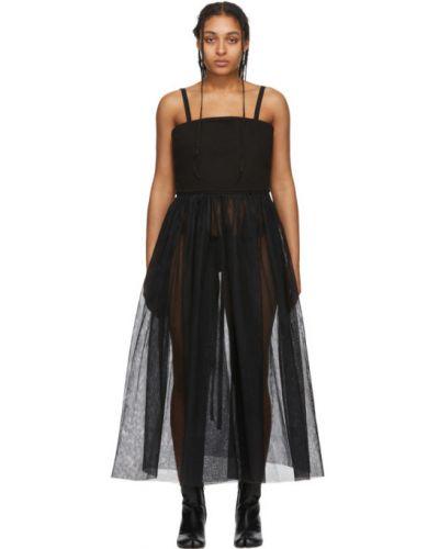 Джинсовое платье из фатина макси Mm6 Maison Margiela