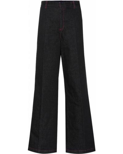 Расклешенные джинсы свободные винтажные Stella Mccartney