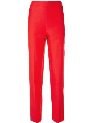 Шерстяные брюки - красные Macgraw