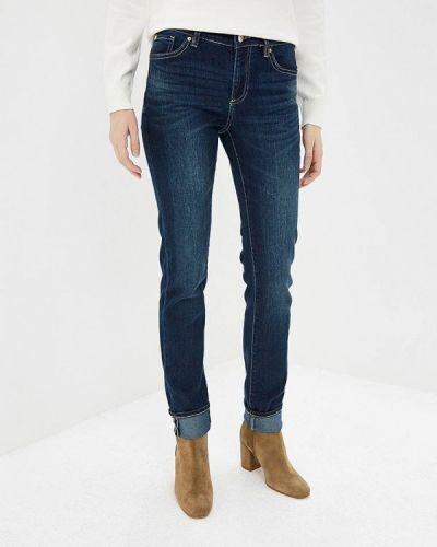 Синие прямые джинсы Armani Exchange