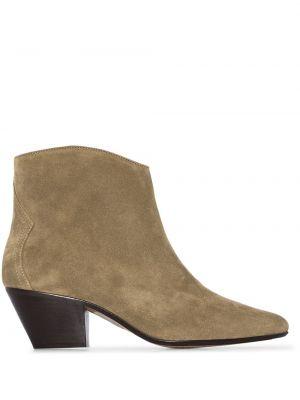 Zamsz kowboj buty Isabel Marant