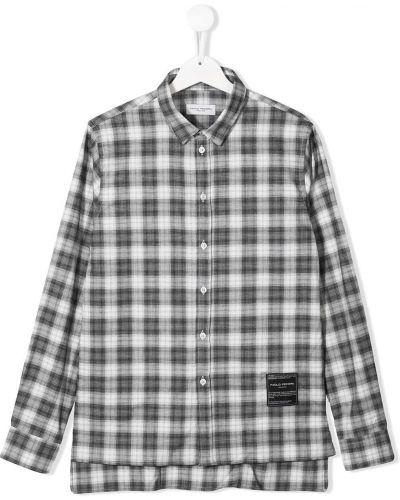 Асимметричная рубашка Paolo Pecora Kids