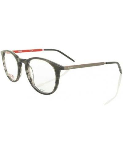 Czarne okulary Hugo Boss