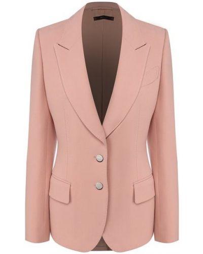 Шерстяной пиджак - розовый Tom Ford