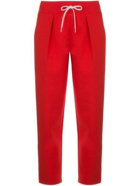 Spodnie z wysokim stanem przycięte z kieszeniami Givenchy