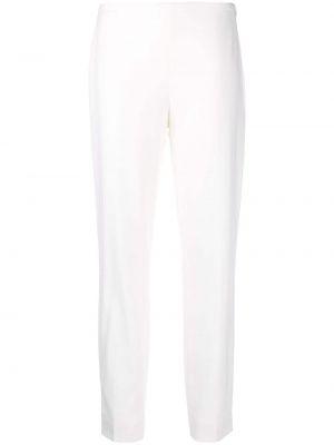 Белые брючные шерстяные брюки Ralph Lauren