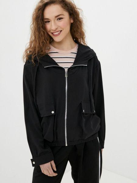 Черная облегченная куртка Adrixx