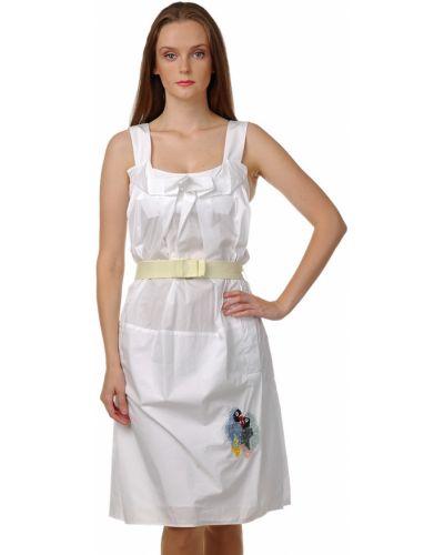 Хлопковое платье - белое Sonia Rykiel