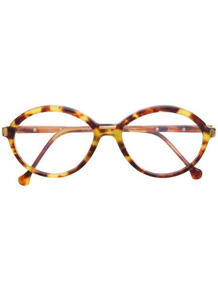 Желтые очки круглые Emilio Pucci Pre-owned