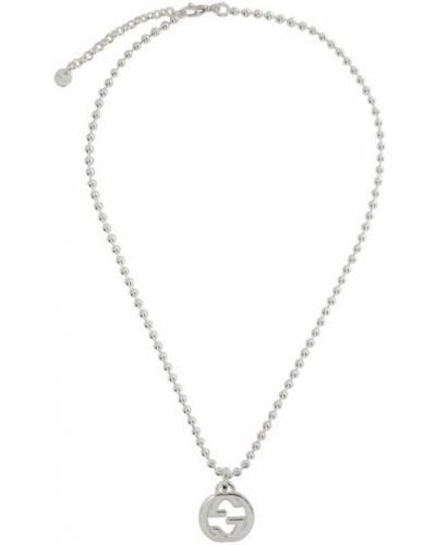 Ожерелье из серебра серебряный Gucci