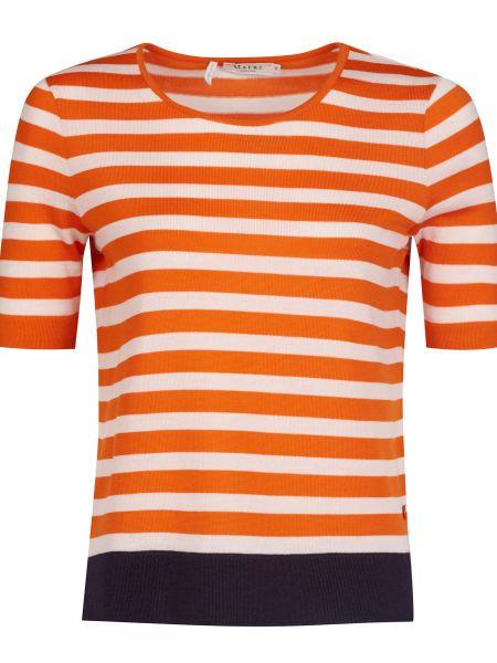 Оранжевая шерстяная футбольная футболка Maerz