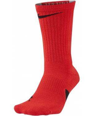 Czerwone skarpety Nike