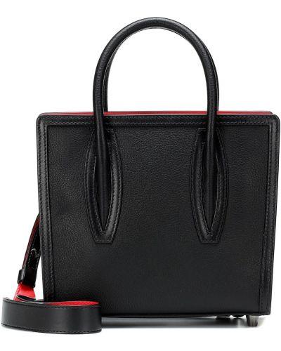Кожаная сумка маленькая деловая Christian Louboutin