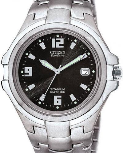 Часы водонепроницаемые с подсветкой стрелочные Citizen