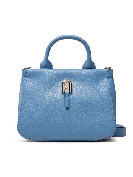 Niebieska torebka casual Furla