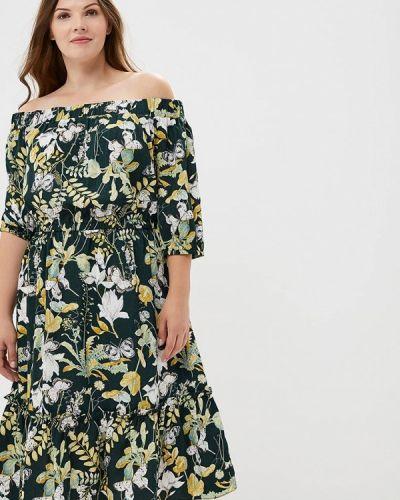 Летнее платье осеннее зеленый Studio Untold