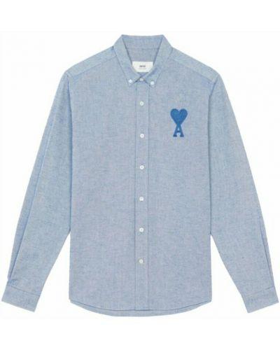 Niebieska koszula Ami Paris