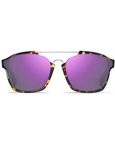 Фиолетовые солнцезащитные очки Dior