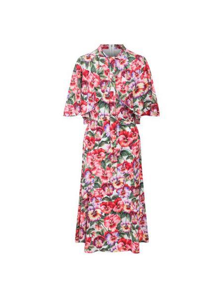 Платье миди шелковое стрейч Dolce & Gabbana
