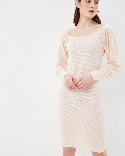 Платье розовое коралловый Anastasya Barsukova