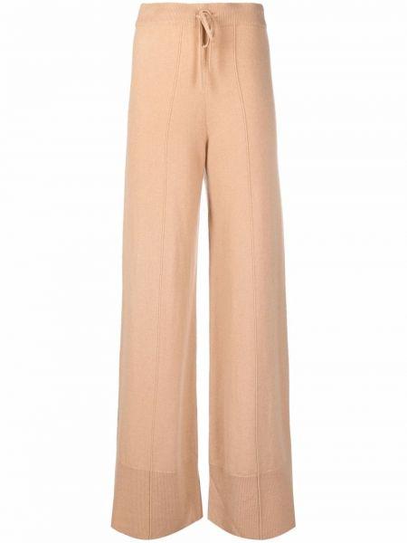 Кашемировые расклешенные брюки N.peal