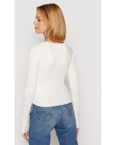 Biały kardigan Tommy Jeans