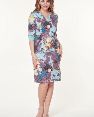 Летнее платье с цветочным принтом платье-сарафан Valentina