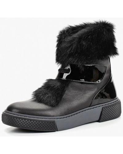 Кожаные ботинки черный Ilvi