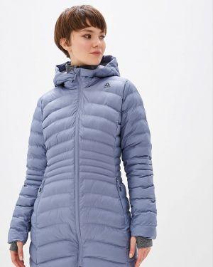 Утепленная куртка осенняя синий Reebok