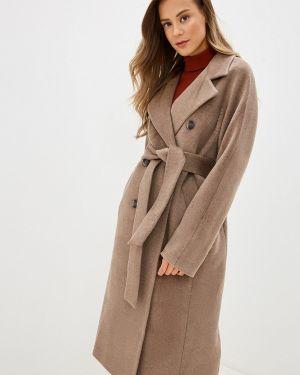 Пальто бежевое пальто Ylluzzore