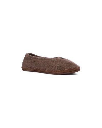 Тапочки коричневый Calzetti